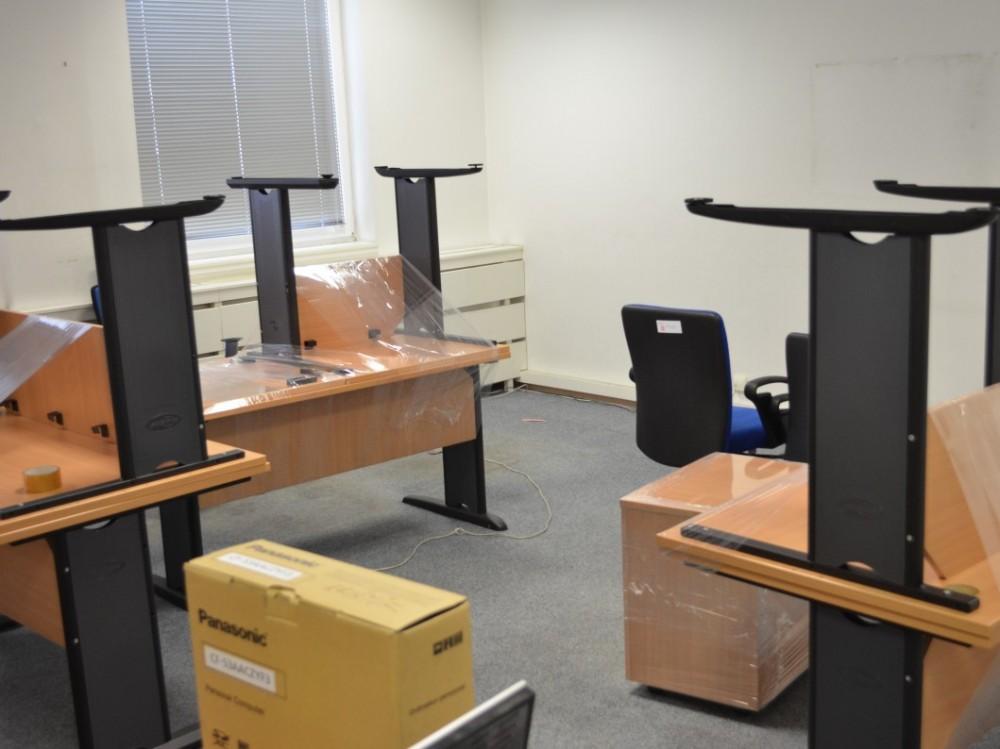 Vystěhování kanceláře