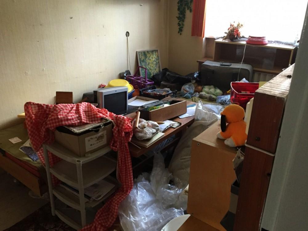 Vyklízení nemovitosti - před