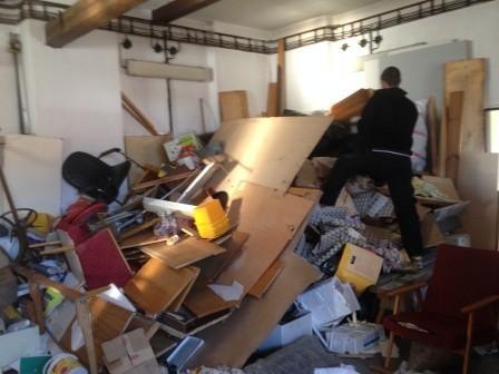 Vyklízení odpadu z domu
